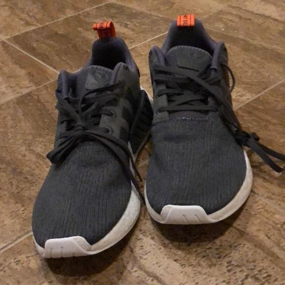 sports shoes 85541 03b16 adidas Other - Adidas NMD R2 - GreyGreyFuture Harvest